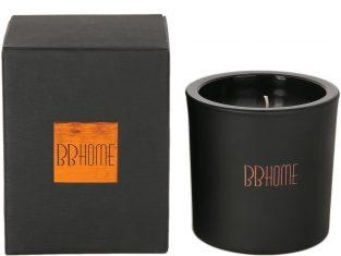 Świeca zapachowa BBHome Volcanic Black Copper 10x10cm