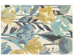"""Dywan z wełny dziewiczej """"Sanderson"""" Verdaccio Pewter 140×200 cm"""