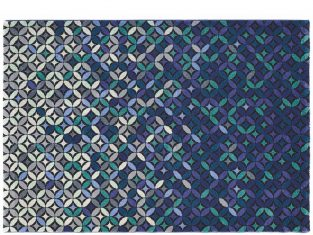 "Dywan ręcznie tkany ""Ted Baker"" Cosmoz Teal 140×200 cm"