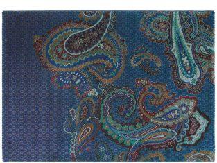 """Dywan tkany ręcznie """"Ted Baker"""" Paisgeo Blue 140×200 cm"""