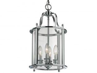 Lampa wisząca New York Silver 27×148 cm Cosmo Light