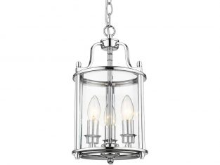 Lampa wisząca New York Silver 20×137 cm Cosmo Light