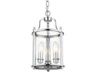 Lampa wisząca New York Silver 20×137 cm Cosmo Light