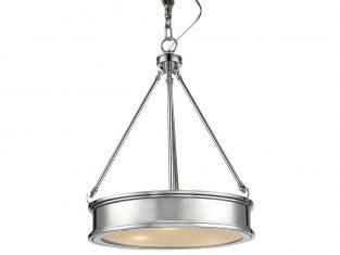 Lampa wisząca New York Silver 42×170 cm Cosmo Light