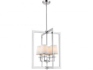 Lampa wiszaca London Silver/White 4L 44x150cm Cosmo Light