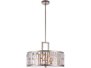 Lampa wisząca z kryształkami Moscow 55x106cm Cosmo Light