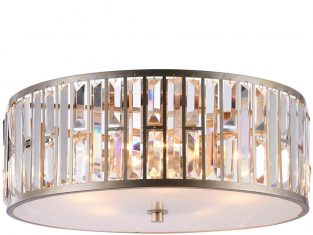 Plafon z kryształkami Moscow 55×23 cm
