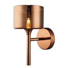 Kinkiet Copenhagen Copper Matt 1L 14×27,5cm Cosmo Light