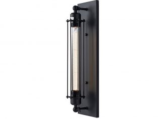 Kinkiet York Black 14×48 cm Cosmo Light