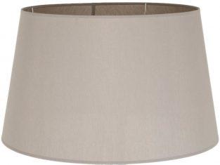 Abażur okrągły do lamp podłogowych Chic Coffee 40x50x29,5 cm