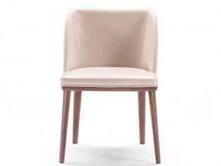 Krzesło tapicerowane Pacini&Cappellini Brenda 55x51x84 cm