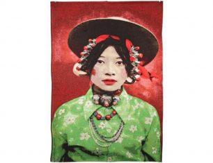 Pled dekoracyjny Girl Kham Tibetians 95×140 cm
