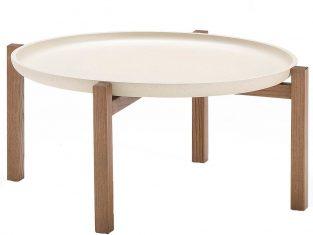 Stolik kawowy z tacą Pacini&Cappellini Gong 65×30 cm