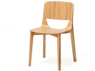 Krzesło dębowe Leaf Ton