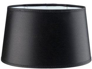 Abażur okrągły do lamp podłogowych Negro 40x50x29,5 cm