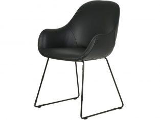 Krzesło tapicerowane Layla Metal High MTI Furninova