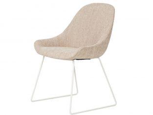 Krzesło tapicerowane Layla Metal Low MTI Furninova