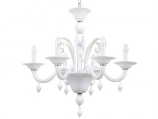 Żyrandol Olivia Dream White 6Lt 60x72cm