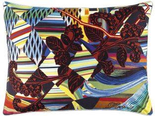 Poduszka dekoracyjna Lacroix Kinetic Mystic Arlequin 60×45 cm