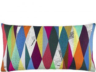 Poduszka dekoracyjna Lacroix Mascarade Arlequin 60×30 cm