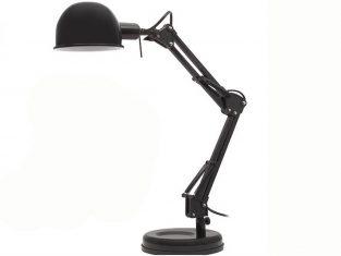 Lampa biurkowa Lilly Black 28×53 cm