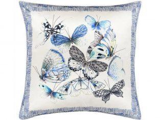 Poduszka dekoracyjna Designers Guild Papillons Cobalt 50×50 cm