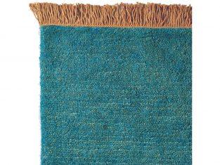 Dywan z wełny tybetańskiej Nima Rust Fringes 200×300 cm