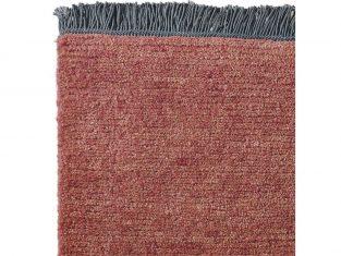 Dywan z wełny tybetańskiej Nima Charcoal Fringes 170×240 cm