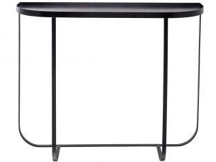 Konsola Harpers Black 100x30x80 cm