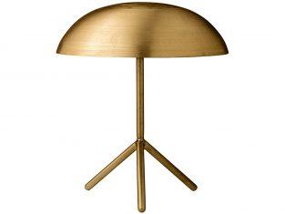 Lampa stołowa złota Pin 35×40 cm