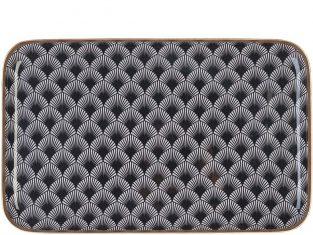 Taca Aruba Black/White 42x26x2 cm