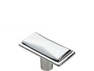 Uchwyt do mebli srebrny Gustavo 21×41 mm
