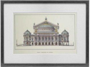 Obraz Paris Theatre D`Opera 50x37cm
