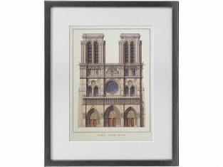 Szkic graficzny Paris Notre Dame