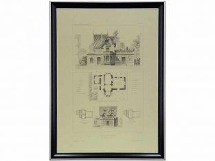 Szkic graficzny Maison au Vesinet