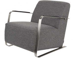 Fotel ciemnoszary Edwin D. Grey 70x83x69cm