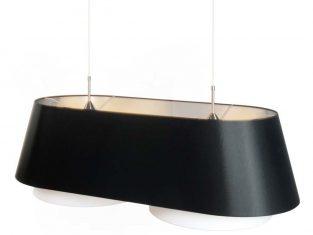 Lampa wisząca Odyssey Black 100x44x33 cm