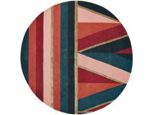 Dywan okrągły Ted Baker Sahara Burgundy 150 cm