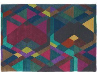 Dywan T.Baker Mosaic Deep Purple 140x200cm
