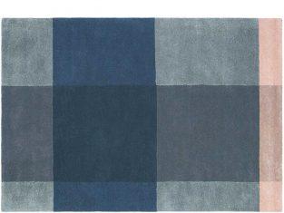 """Dywan z wełny dziewiczej """"Ted Baker""""  Plaid Grey 170×240 cm"""