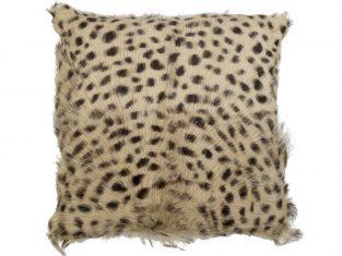 Poduszka futrzana Goat Leopard 40×40 cm