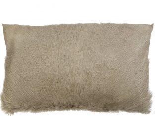 Poduszka futrzana Goat Beige 30×50 cm