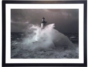 Fotografia w ramie Lighthouse Ar Men 90×70 cm