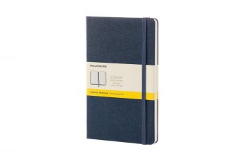 Moleskine Classic Navy HD L notes kratka