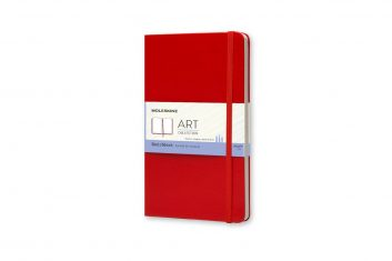 Moleskine Sketchbook Red L HD notes