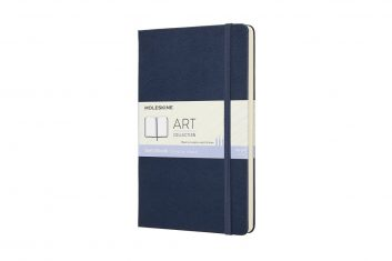 Moleskine Sketchbook Navy L HD notes