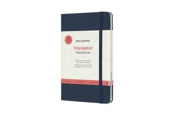 Moleskine Voyageur Navy L HD notes