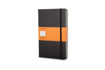 Moleskine Classic Black S HD notes linia