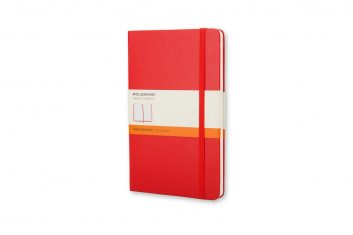Moleskine Classic Red S HD notes linia