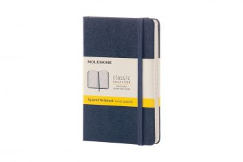 Moleskine Classic Navy S HD notes kratka